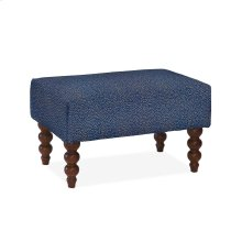 Rockport Small Ottoman, PLMA-BLUE
