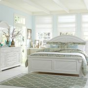 Queen Panel Bed, Dresser & Mirror, N/S Product Image