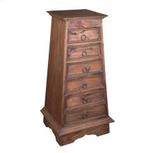 CC-CHE825LS-RW  Cottage Pyramid Chest
