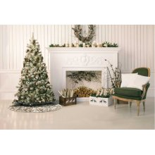 "Home for the Holiday Vv920 Gold 50"" Rnd Holiday Accessory"