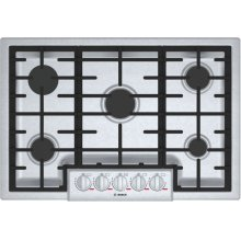 Benchmark® Gas Cooktop 30'' Stainless steel NGMP056UC