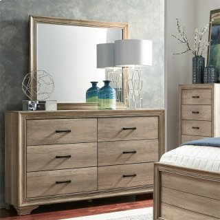 Sandy Ridge Dresser & Mirror