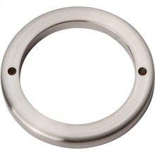 Tableau Round Base 2 1/2 Inch - Brushed Nickel