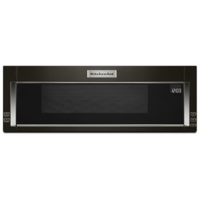 1000-Watt Low Profile Microwave Hood Combination with PrintShield™ Finish - Black Stainless