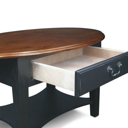 Shaker Oval Coffee Table #9044-SL