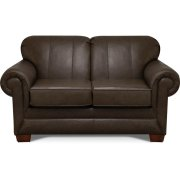 Monroe Leather Loveseat 1436LS Product Image