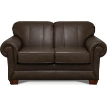 1436LS Monroe Leather Loveseat