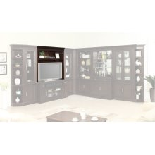 STANFORD 60 in. Bookcase TV Hutch