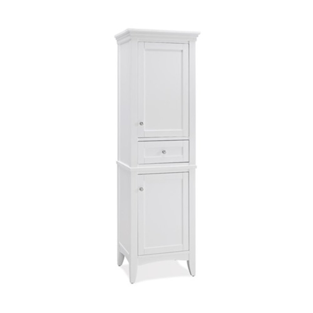 "Shaker Americana 21"" Linen Tower - Polar White"