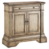 Gentry 2-door 1-drawer Accent Cabinet