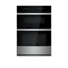 "NOIR 30"" Microwave/Wall Oven with MultiMode® Convection System Product Image"