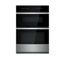 "NOIR 30"" Microwave/Wall Oven with MultiMode® Convection System"