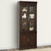 STANFORD 32 in. Glass Door Cabinet