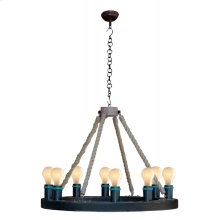 Rope Filament Chandelier