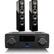 Prime Wireless SoundBase - SoundBase with Prime Pinnacle / Piano Gloss Black