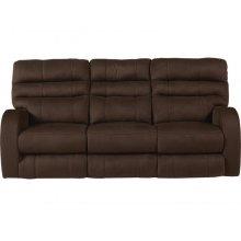Power Headrest Power Lay Flat Reclining Sofa