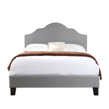 Emerald Home Madison Upholstered Bed Kit Queen Light Gray B131-10hbfbr-03