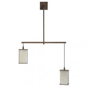 Custom 2 Light Pendant Silicon Bronze Brushed Product Image