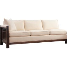 Left Facing Sofa, Cherry Highlands Sectional