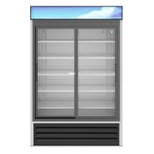 RM-45-SD-HC, Refrigerator, Two Section Glass Door Merchandiser