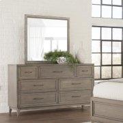 Vogue - Landscape Mirror - Gray Wash Finish Product Image