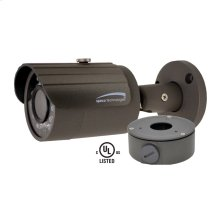 3MP Bullet IP Camera with Junction Box, 2.8mm Fixed Lens, Dark Gray Housing