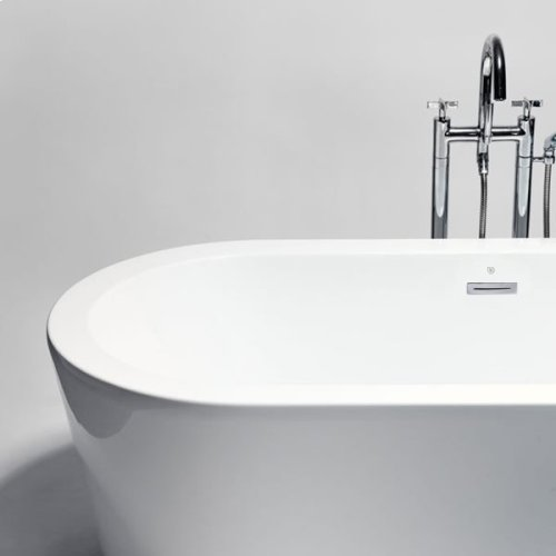 "coco freestanding acrylic bathtub 70""x31 1/2""x21 3/4"""