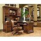 Villa Tuscano Return Desk with Hutch Product Image