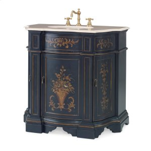 Floral Ebony Sink Chest Product Image