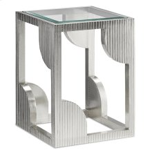 Morneau Silver Side Table