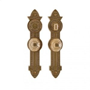 """Briggs Entry Set - 3"""" x 13"""" Silicon Bronze Brushed Product Image"""