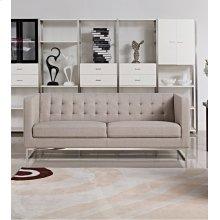Divani Casa Dominic Modern Grey Fabric Sofa