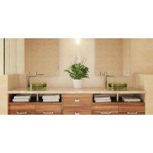 Lana Round Above-counter Bathroom Sink - Absinthe