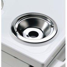 "6"" Chrome Drip Bowl - Plug-in Element"