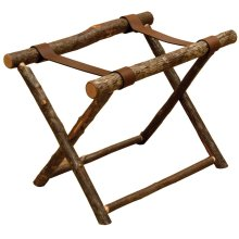 Luggage Rack - Natural Hickory
