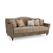 Loveseat (fabric outside arm)