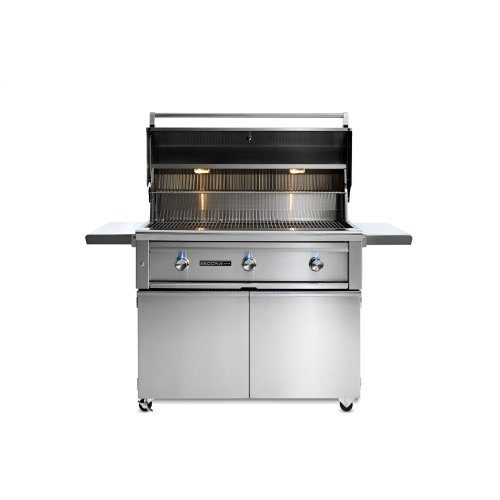 """42"""" Sedona by Lynx Freestanding Grill with 2 Stainless Steel Burners and ProSear Burner, NG"""