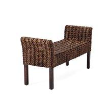 Caspian Woven Bench