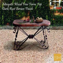 Mesquite Wood Small Console