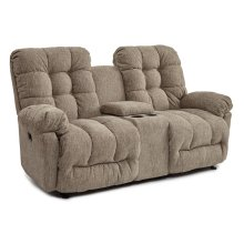 EVERLASTING Power Tilt Headrest Rocker Console Loveseat Chaise