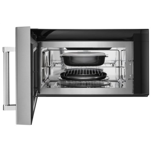 1000-Watt Convection Microwave Hood Combination - Stainless Steel
