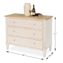 Figure Eight Commode