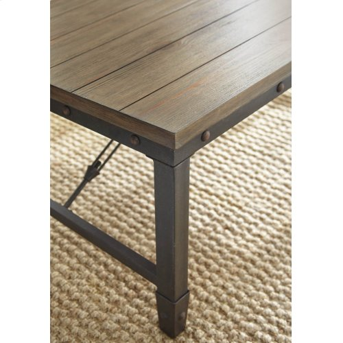 """Jersey Cocktail Table, 48"""" x 26"""" x 18"""""""