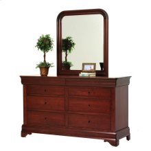 Louis Phillipe Dresser- Mirror