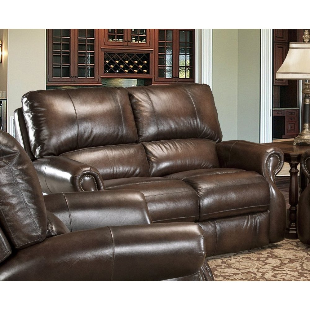 Hawthorne Brown Power Loveseat