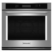 "30"" Single Wall Oven with Even-Heat™ True Convection - Stainless Steel Product Image"