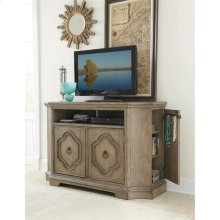 Corinne - Media Chest - Sun-drenched Acacia Finish