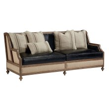 Old Saddle Black Foundation Sofa