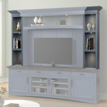 AMERICANA MODERN - DENIM Hutch Piers