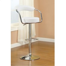 F1560 / Cat.19.p65- ADJUSTABLE BARSTOOL WHT